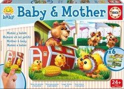 Puzzle dla dzieci - Dziecko i Mama