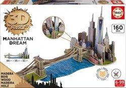 Educa Puzzle 3D Manhattan 160 el.