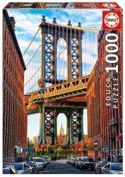 Educa Puzzle Most na Manhattanie, Nowy Jork 1000 el.