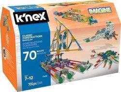 K'nex K'nex Imagine Klasyczne Konstrukcje - zestaw konstrukcyjny - 70 modeli