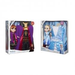 Frozen 2 Kraina Lodu Lalka i strój Anna/Elsa Ast.