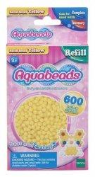 Aquabeads Żółte lite koraliki