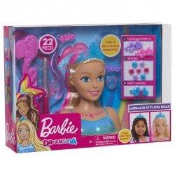 Just Play Barbie Dreamtopia Głowa do stylizacji