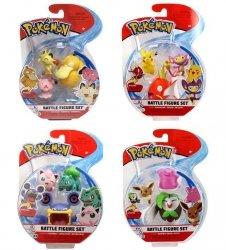 Pokemon Zestaw 3 figurek Seria 2 Ast.