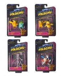 Pokemon Detektyw Pikachu Figurki 2 i 3 cale Ast.