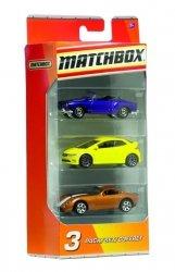 Mattel Matchbox Trzypak Matchbox