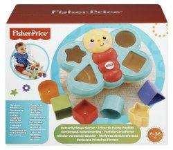 Mattel Fisher Price Motylek Sorter kształtów