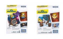 Mattel Mega Bloks Minionki Figurka z TV/ Walka na śnieżki Ast.
