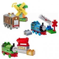 Mattel Mega Bloks Klocki TF Ciuchcia Junior Builders Ast.