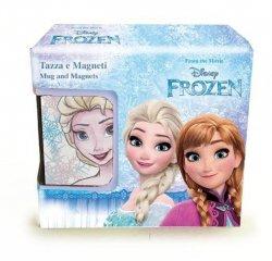 Frozen Zestaw podarunkowy kubek 330 ml i 2 magnesy
