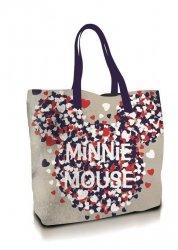Coriex Myszka Minnie płócienna torba na zakupy