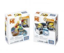 Mattel Mega Bloks Minionki Minizestawy Ast.
