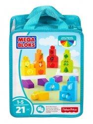 Mattel Mega Bloks Klocki Kolorowa układanka
