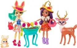 Mattel Enchantimals Wielopak Lalki + zwierzątka