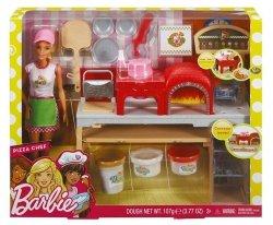 Mattel Barbie Pizzeria Zestaw + lalka