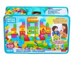 "Mattel Mega Bloks Klocki Torba 150 elementów ""Czas na naukę"""