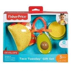 Mattel Fisher Price Taco Sensoryczny zestaw zawieszek
