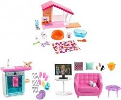 Mattel Barbie Mebelki do domku Ast.
