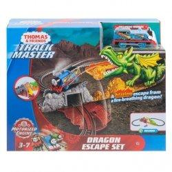 Mattel Tomek i Przyjaciele Track Master Ucieczka przed smokiem Zestaw