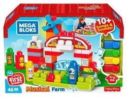 Mattel Mega Blocks Building Basics Muzyczna farma Zestaw klocków