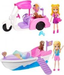 Mattel Polly Pocket Lalka + pojazd Ast.