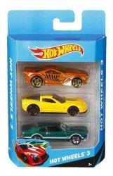 Mattel Hot Wheels - Trzypak