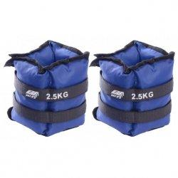 Obciążenie Na Przeguby Niebieskie 5Kg (2X2,5Kg) Eb Fit