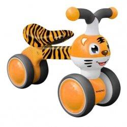 Rowerek Biegowy Jeżdzik Enero Pomarańczowy  Tygrys