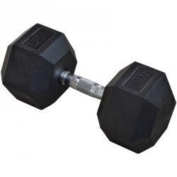Hantla gumowa Hex 30 kg eb fit