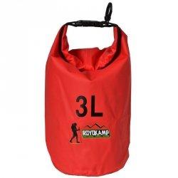 Worek Wodoszczelny Royokamp Czerwony 3 L