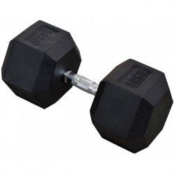 Hantla gumowa Hex 50 kg eb fit