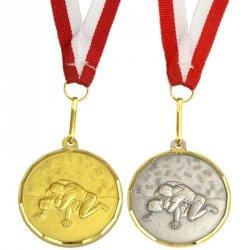 Medal Promo 40Mm Zapasy Srebrny 268681