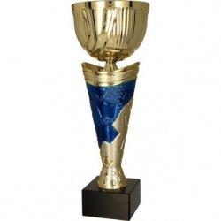 Puchar Metalowy Złoto-Niebieski 4171D