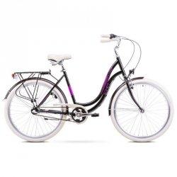 Rower Romet Angel 28 3 Czarno-Różowy 19 L 1928201