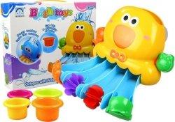 Zabawka do Kąpieli Ośmiornica + Kolorowe Kubeczki