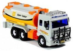 Duża Cysterna Auto Super Tanker + Ruchome Elementy