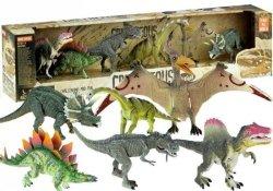 Zestaw Dinozaurów 6 szt Tyranozaur Pterodaktyl