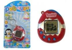 Gra Elektroniczna Tamagotchi Zwierzątko Jajeczko Czerwony