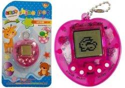 Gra Elektroniczna Tamagotchi + Smycz Różowa