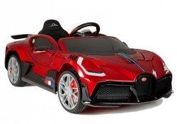 Auto na Akumulator Bugatti Divo  Czerwony Lakier