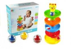 Sorter Edukacyjna Zjeżdżalnia dla piłeczek dla niemowląt