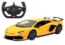 Auto R/C Lamborghini Aventador Rastar 1:14 Żółty