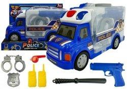 Auto Rozkładane Walizka Policja Broń Kajdanki