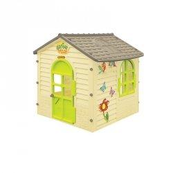 Domek Ogrodowy Dla dzieci Otwierane Okna Mochtoys + bramka gratis!