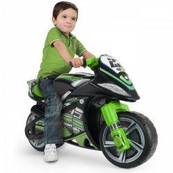 Kawasaki Jeździk Motorek Biegowy Injusa Winner + Bramka GRATIS