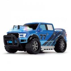 Dickie Racing - Jeżdżący muzyczny samochód terenowy Ford F150 Pick Up ze światłem i dźwiękiem