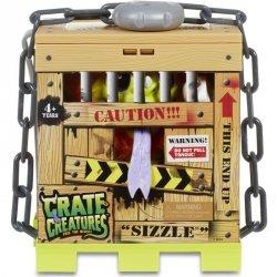 Crate Creatures Interaktywny stworek Sizzle w klatce