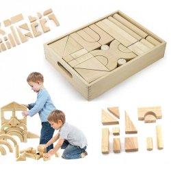 Drewniane klocki Viga Toys 46 elementy