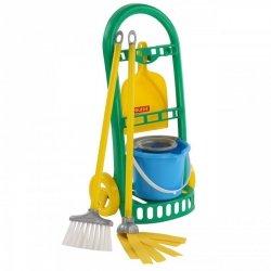 Wózek do sprzątania z akcesoriami dla dzieci Wader QT