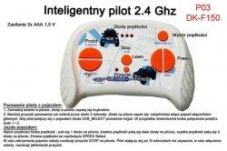 Pilot zdalnego sterowania w technologii 2.4 Ghz do pojazdów FORD F150